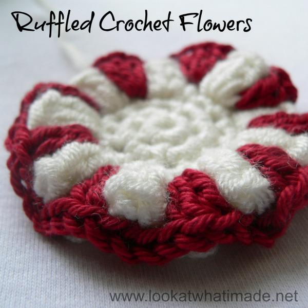 Crochet Ruffle Flower Pattern : Fiber Flux: Fabulous Ruffles! 16 Ruffly Crochet Patterns