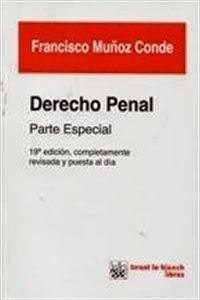 Manuales de Derecho: Derecho Penal Parte Especial.