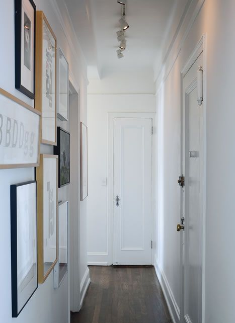 Decorar pasillos estrechos