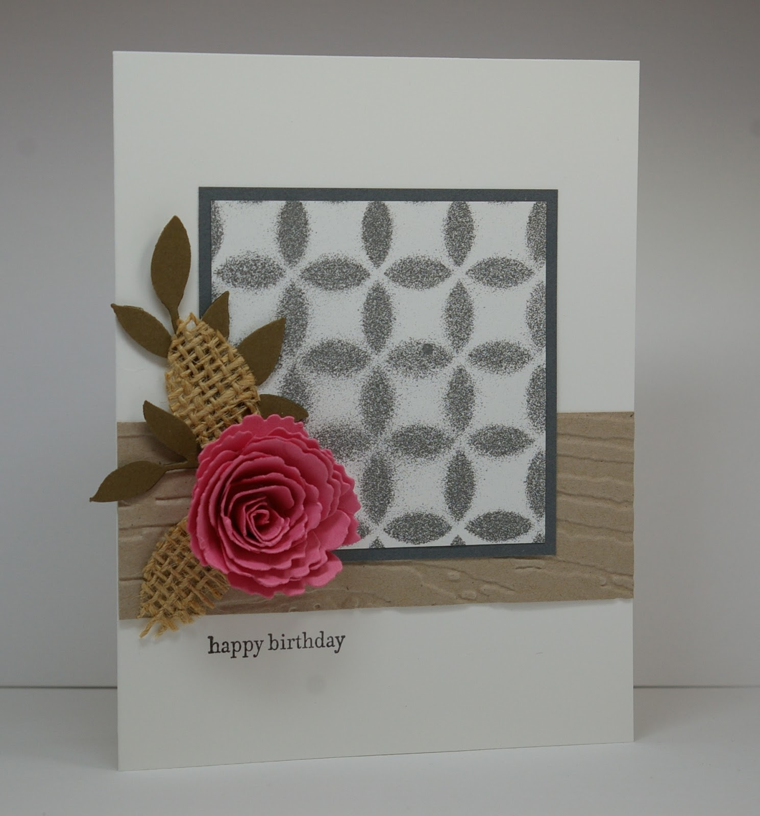 Greyt Paper Crafts: Transitioning from Clean to Shabby Chic