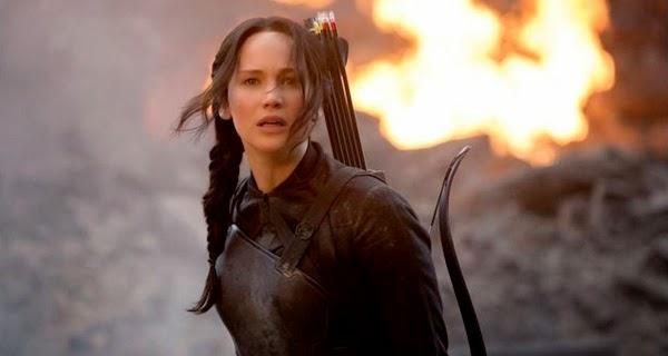 Jennifer Lawrence en Los Juegos del Hambre: Sinsajo parte 1