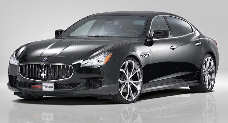 novitec powers up new maserati quattroporte. Black Bedroom Furniture Sets. Home Design Ideas