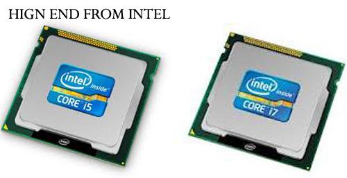 intel core i5, i7