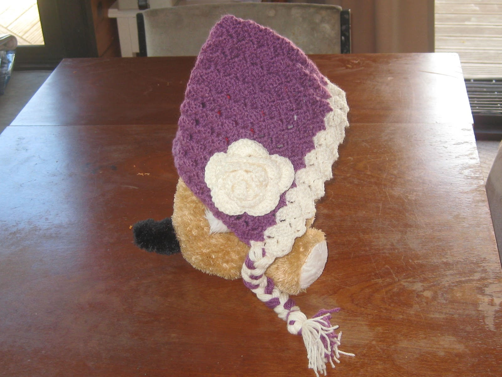 Knot Your Nana\'s Crochet: Vintage Baby Bonnet (Pixie Hat)