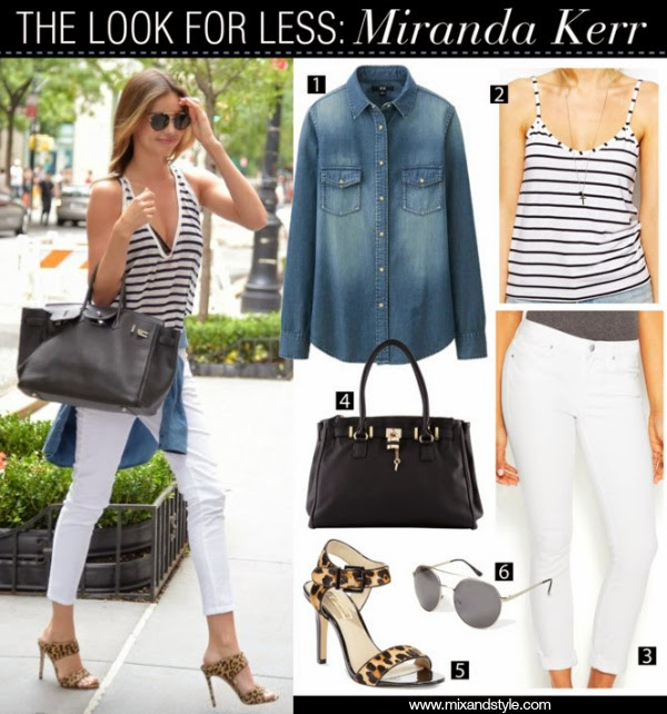 herme handbags - Mix and Style: Celebrity Look for Less: Miranda Kerr