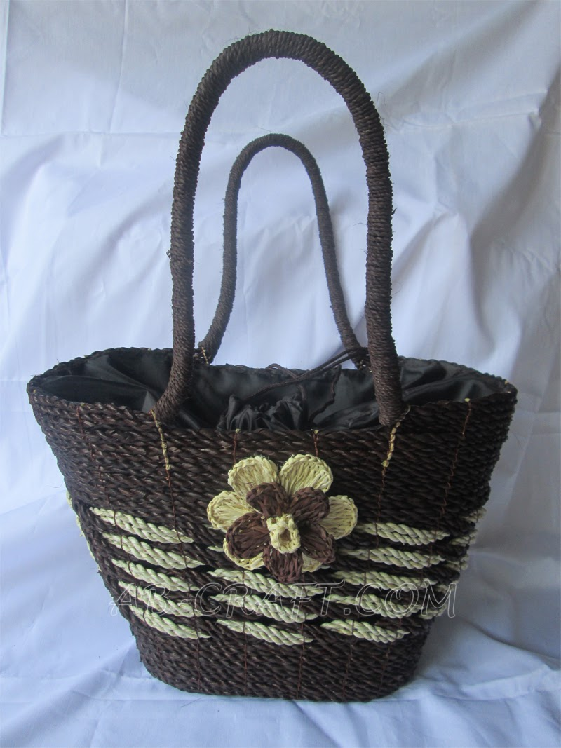 Handicraft, Pandan Oval Bag Craft_www.ab-craft.com.jpg