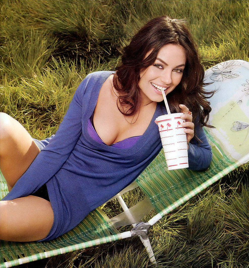 Beautiful. Hot. And Sexy. Mila Kunis, The Complete Package.
