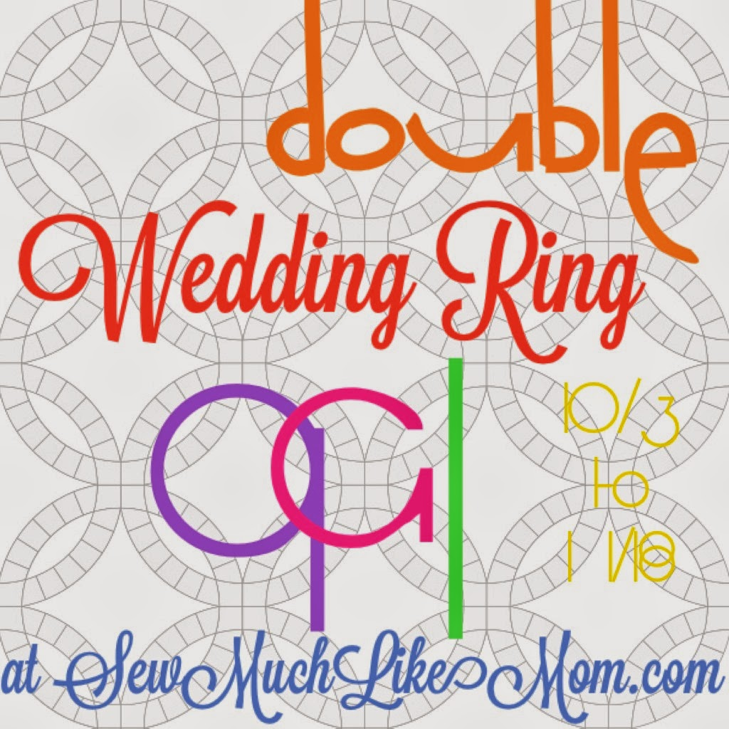 Sew Much Like Mom: Double Wedding Ring Quilt Along: Let\'s Talk Fabric