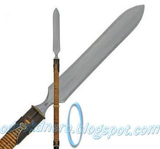 Yari Pedang Samurai Jepang