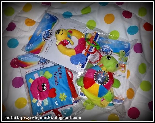"""Blogosfera Canpol Babies - zestaw """"Kolorowy ocean"""""""