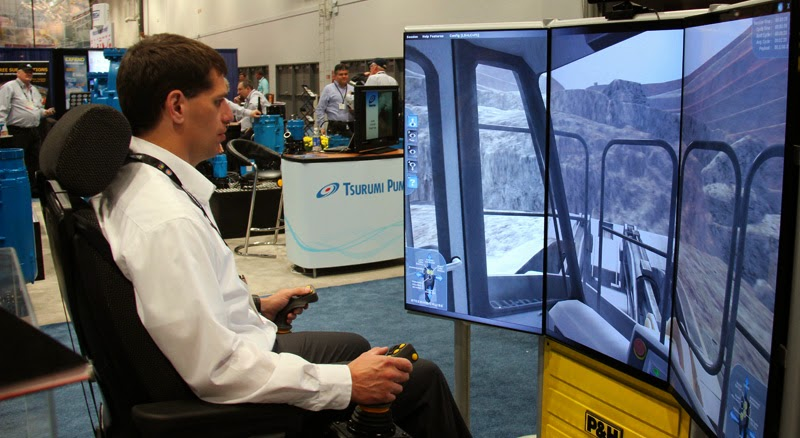 Joy Global Wheel Loader Training Simulator