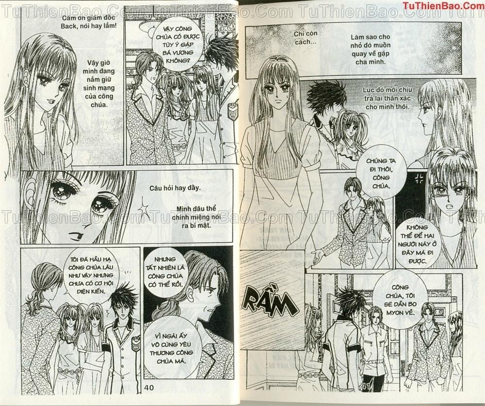 Ma cà rồng hộ mệnh Chapter 10 - Trang 19