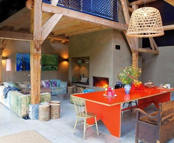 casa de campo - decoração rústica
