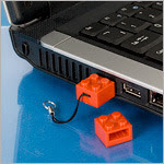 LEGO USB in use