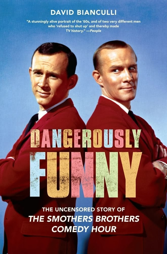 Dangerously Funny by David Bianculli cover