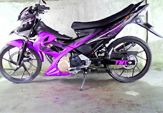 Modifikasi Motor Suzuki Satria FU 150cc Terbaru