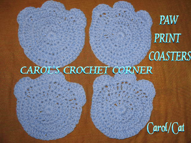 Free Crochet Pattern For Paw Print : Crochet Patterns ? Paw Prints Free Patterns For Crochet