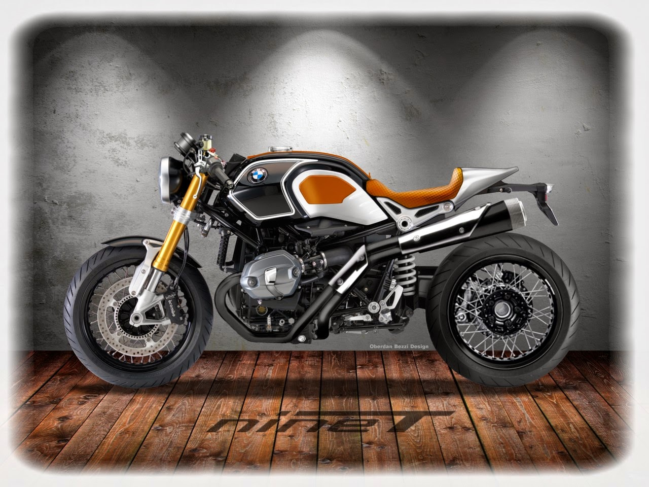 caf racer 76 bmw r nine t custom. Black Bedroom Furniture Sets. Home Design Ideas