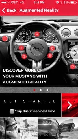 Ford & Tweedle Introduce Interactive Mustang App