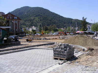 Fethiye Town Square Construction Work