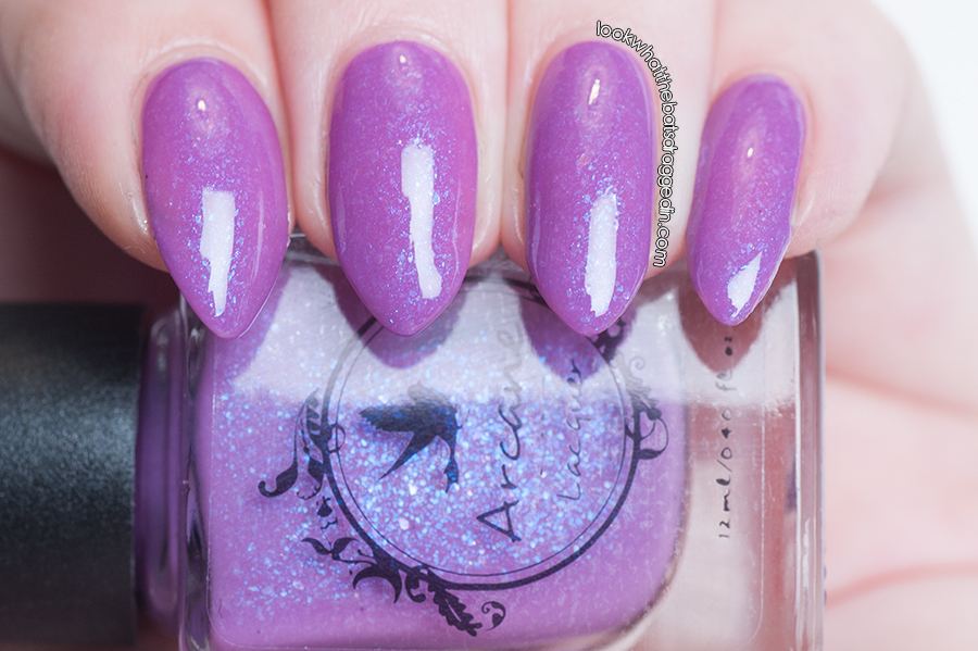 Arcane Lacquer Lambent Light nail polish swatch
