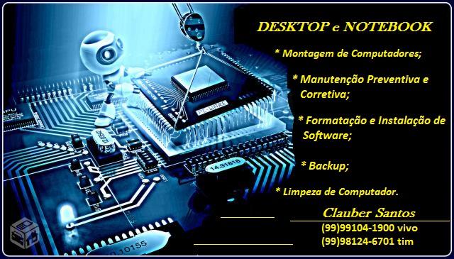 Manutenção em Desktop e Notebook