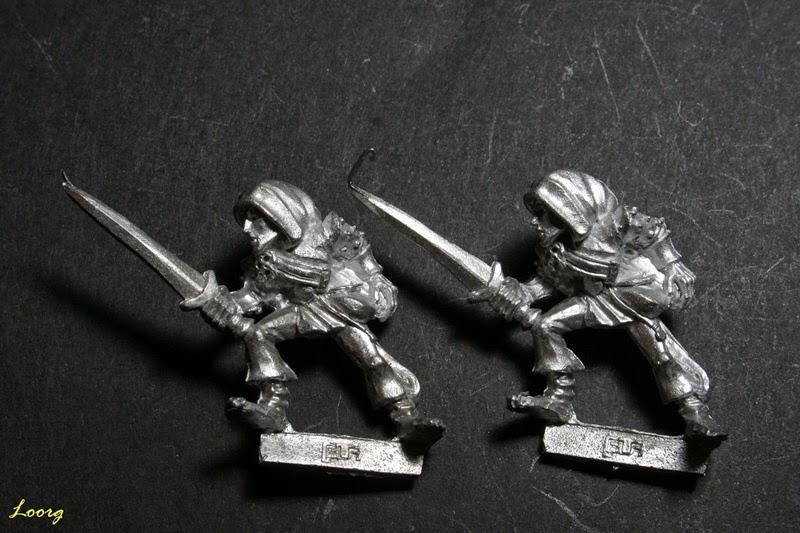 Elfo Silvano con espada, Sword 13 de referencia 074213/41