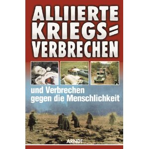 Allied War Crimes WW2 German book
