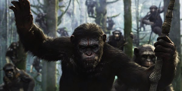 Andy Serkis em PLANETA DOS MACACOS: O CONFRONTO (Dawn of the Planet of the Apes)