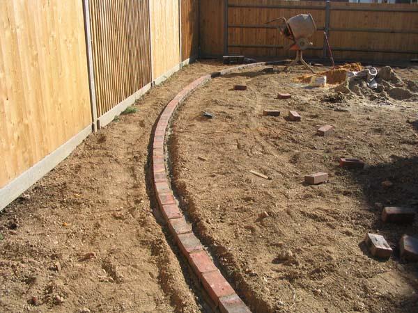 brick lawn edging brick phone picture