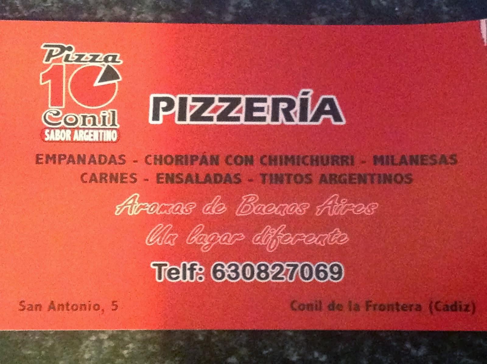 PIZZA 10 El Argentino