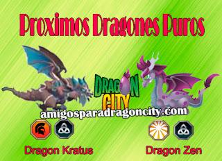 imagen de los proximos dragones puros de dragon city