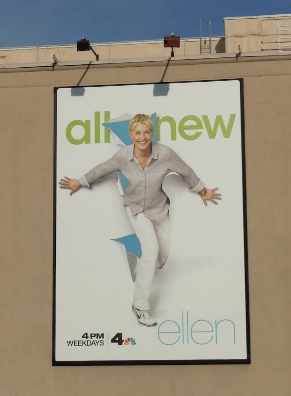 Ellen Show billboard