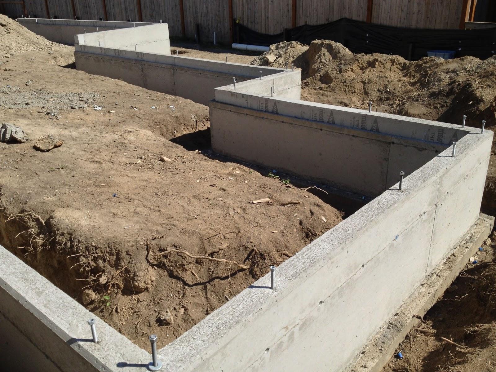 Details Of Home Stem Walls