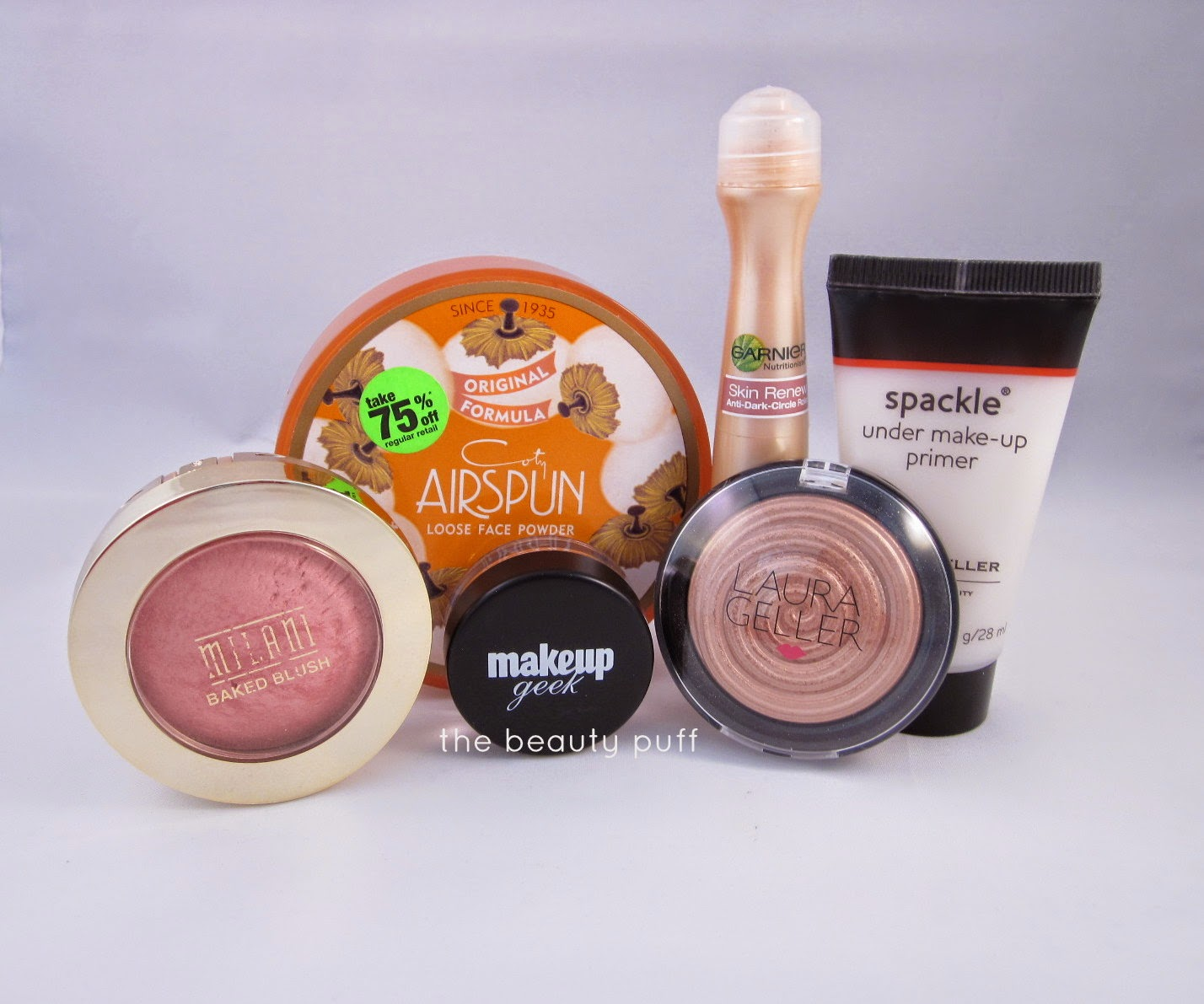 spring makeup products - the beauty puff