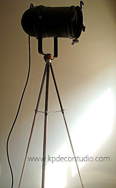 Comprar lámparas de pie originales estilo industrial de estudio