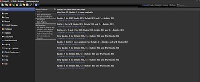 Página Principal de HTML5 Builder