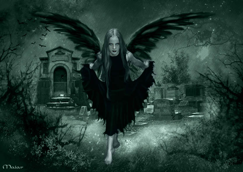 January 2012 fairy background wallpapers - Free evil angel pictures ...