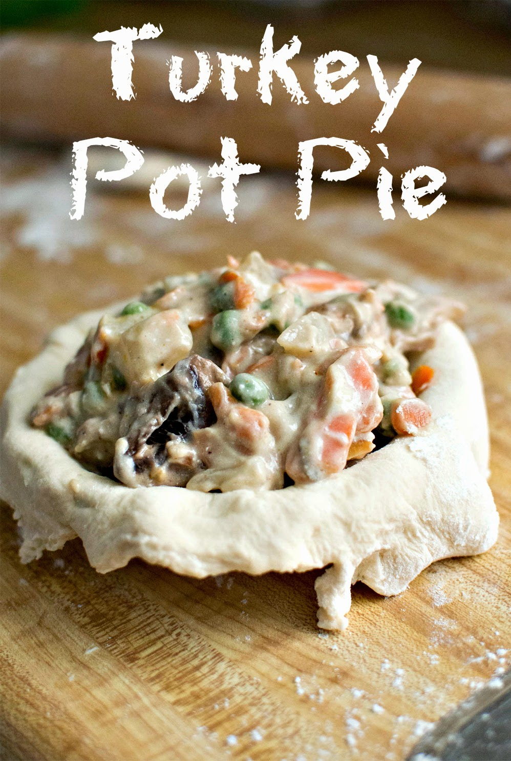 Turkey Pot Pie on Diane's Vintage Zest!