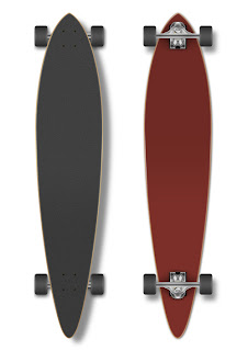 Skate longboard para Photoshop