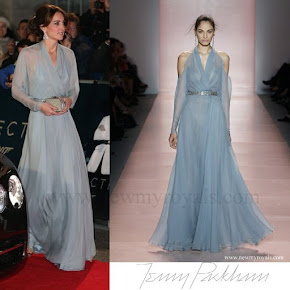 Kate Middleton wore Bespoke Jenny Packham gown