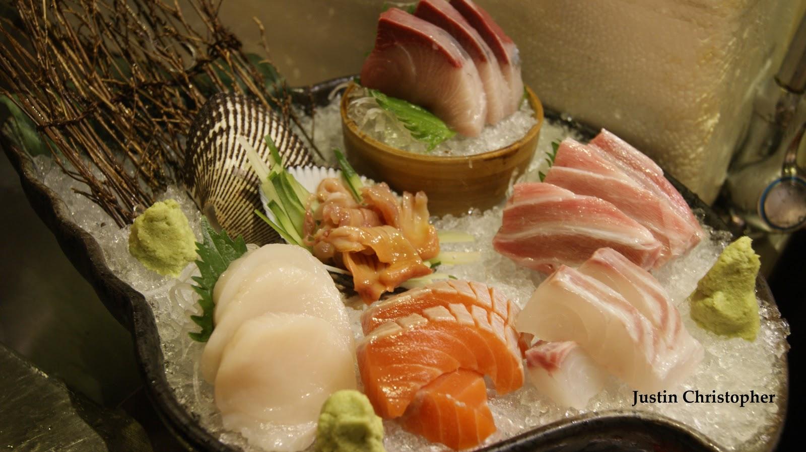 Foodwithin: Classic Creation~ Sashimi Mariowase  Giant Clam Sushi