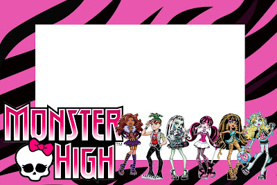 Monster High Free Printable Party Invitations – Monster High Birthday Invitations Free
