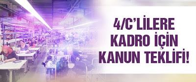 HDP 4/C lilere Kadro İçin Kanun Teklifi Verdi