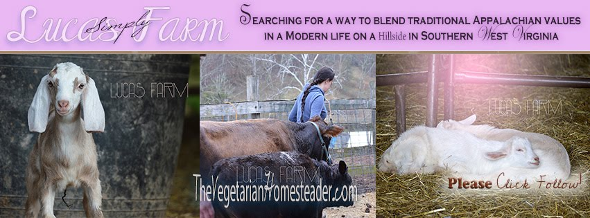 The Vegetarian Homesteader stories from Tinia of Lucas Farm