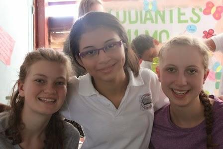 Danica, Gracia and Megan