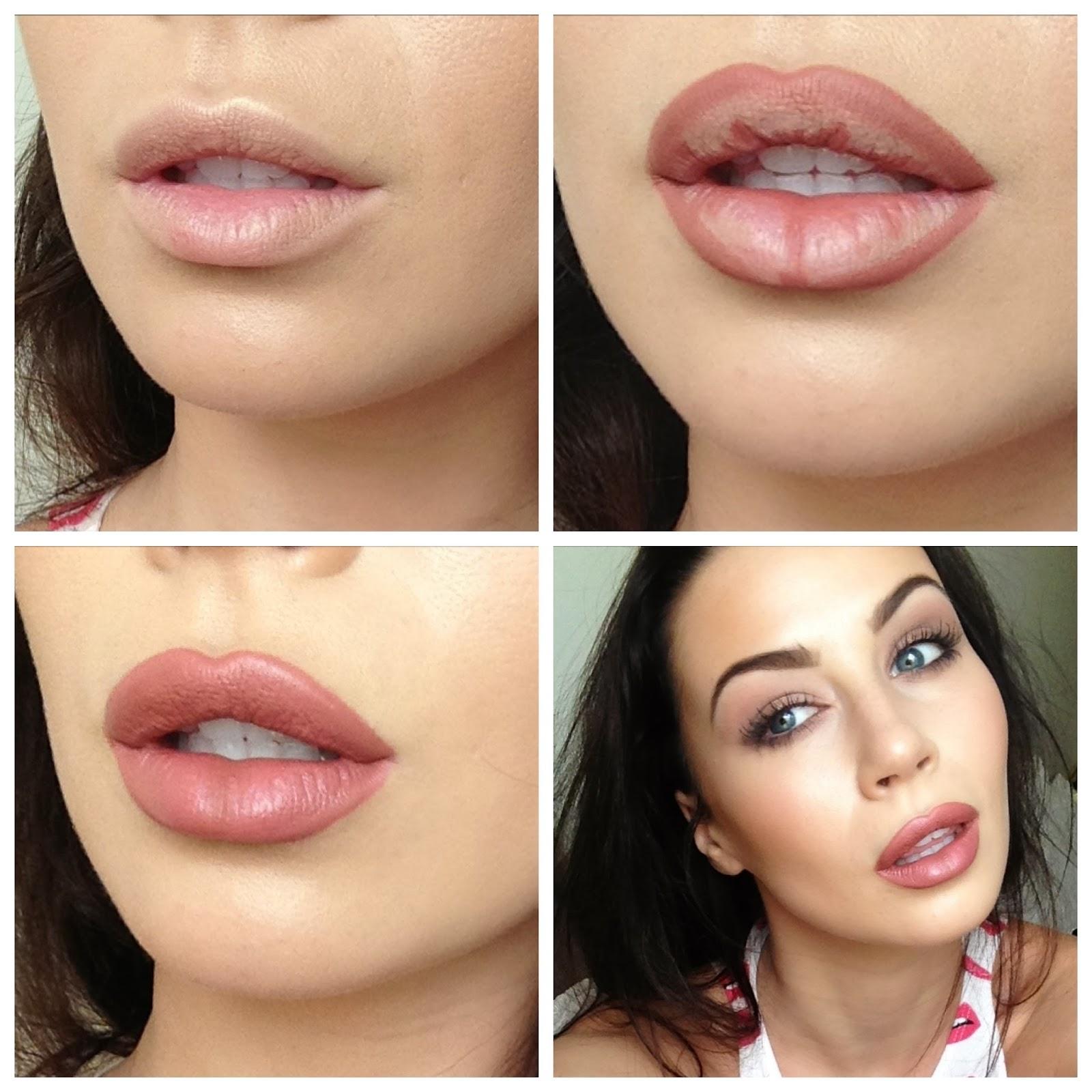 større læber