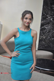 Anaika Soti  Pictures in MIni Dress at Naanthan Da Movie Trailer Launch  0022