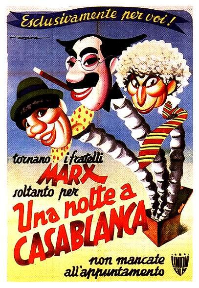 Una Noche En Casablanca.Los Hermanos Marx.1946