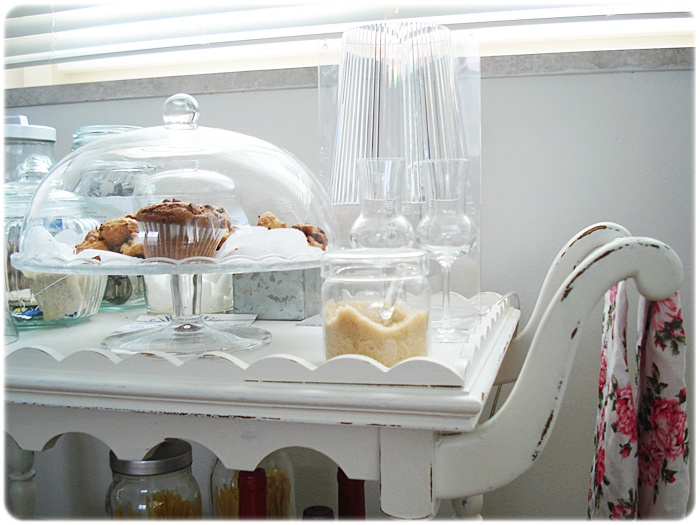 Mami g.: l'ultimo arrivato: un carrello nella mia cucina